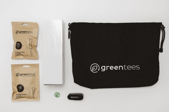 winter grinder green tees golf gift box